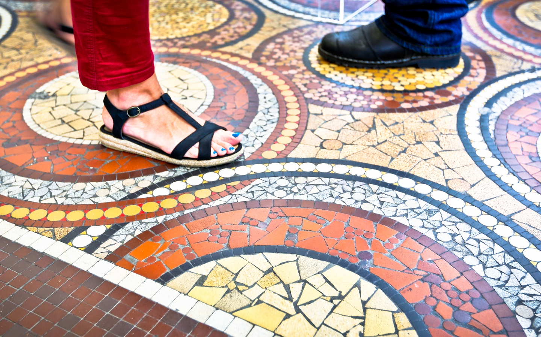 Odorico y el arte del mosaico ©Julien Mignot