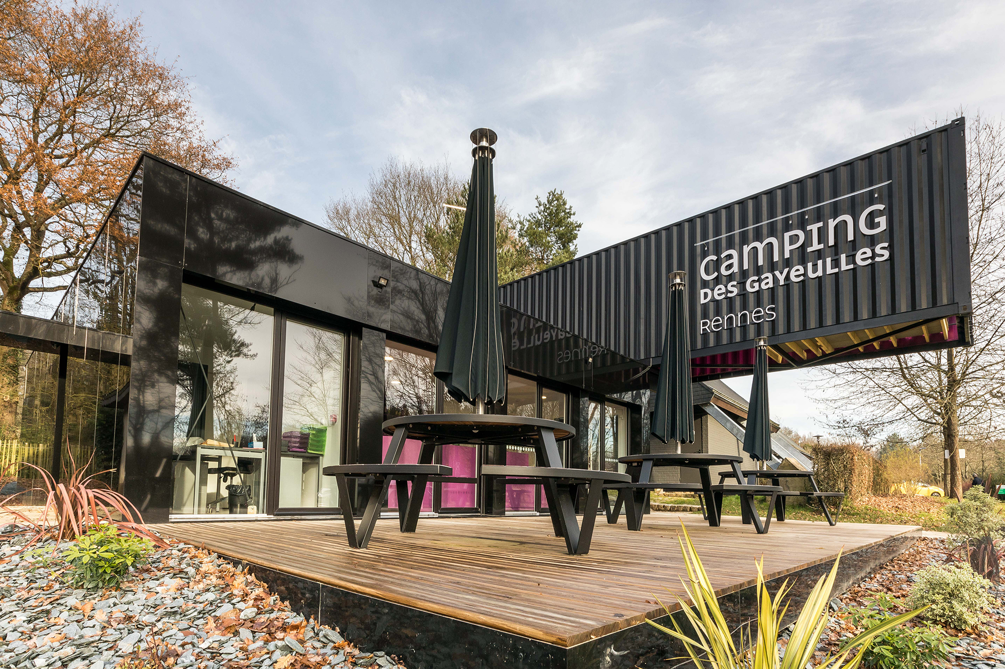 Camping des Gayeulles, reception